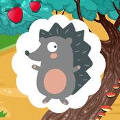 活跃! 学习儿童游戏与世界的动物 1