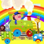 动物动画与暗影快乐宠物搜索儿童游戏 1