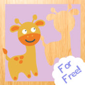 宝宝木制拼图:在爬行阶段的幼儿游戏! 1
