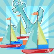 动画孩子玩与学习游戏免费开放海域党与船 1