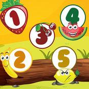 动画儿童和婴儿游戏与各种学习任务 1
