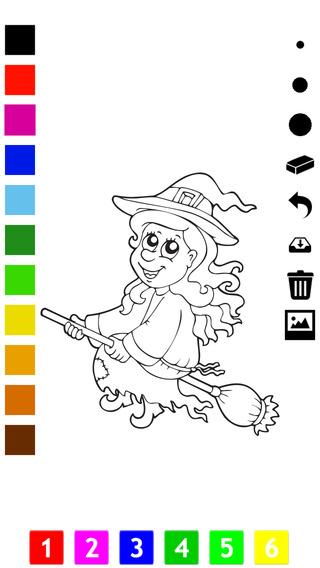 我的图画书给孩子学画画万圣节