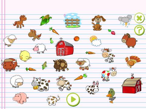 美国广播公司第一个字与农场的动物