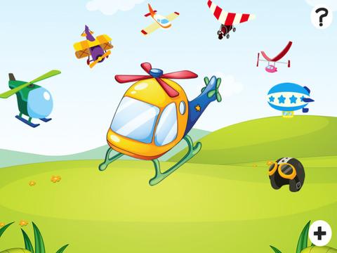 主动! 游戏儿童学习计数,以1-10直升机
