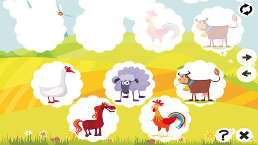 活跃! 记忆 :学习儿童游戏与动物和宠物