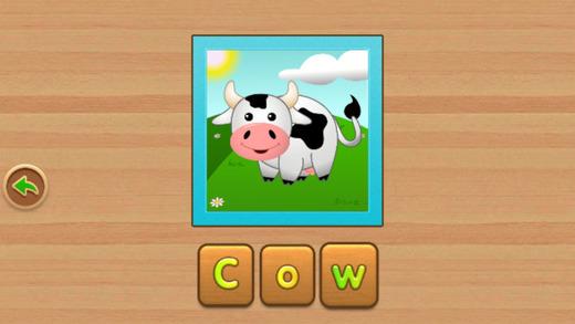 拼图学英语动物版——儿童学英语最佳超萌可爱动物园游戏!
