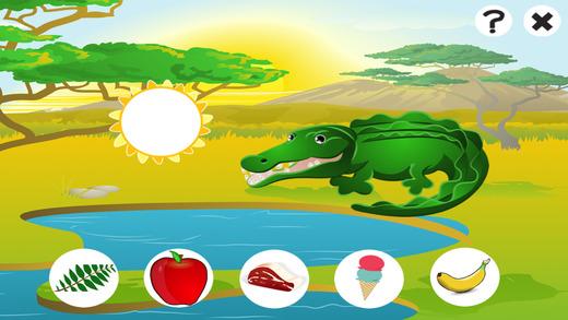 动画游戏的孩子饲料的野生动物电脑版