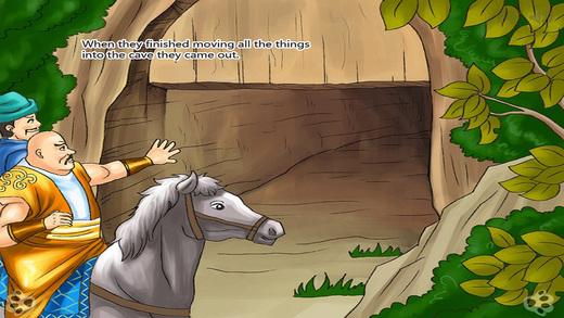 阿里巴巴和四十大盗  睡前 童话 动画 故事 iBigToy