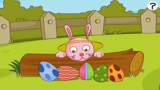活动! 学习游戏有关复活节儿童