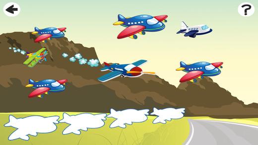飞机游戏的乐趣免费为婴儿及童装:学习应用程序
