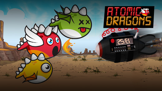 Atomic Dragons - 怪物飞全速