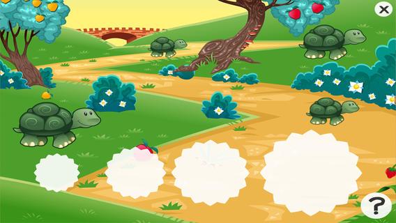 2-5岁儿童的森林动物的游戏.幼儿园,学前班和幼儿园的