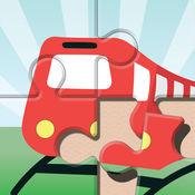 大书关于火车的 -  拼图和图画书 1.1