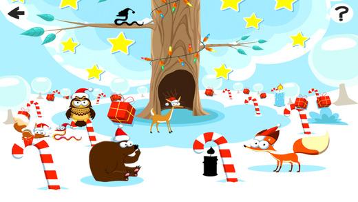 圣诞动物在冬季仙境:儿童游戏和整蛊之谜为我的宝贝 -->*有趣的互动拼图应用程序对婴儿和小孩 - 由教育家发达! *这个程序教你的孩子令人不解的快乐方式和奖励正确的答案! *你的宝宝将有乐趣学习如何将对象放入空点 - 动画与真实的木结构设计! - 互动和快乐的学习游戏! 益智马的图像,以赚取巨大的回报! 有乐趣与这个有趣的游戏! - 产品特点: *无尽的娱乐和更多的挑战各种游戏设定 *惊人的图形和奖励 *刺激的音乐和声音效果 *易于操作为孩子们