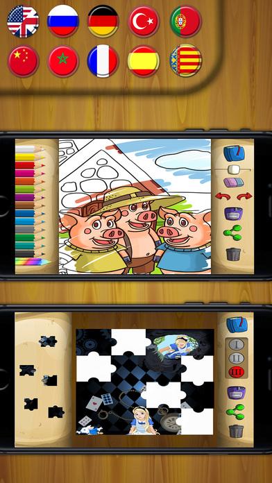 经典童话故事大全儿童画画游戏