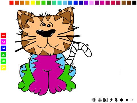 图画书:猫的孩子学画画电脑版
