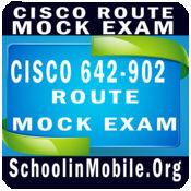 Cisco 642-902 ROUTE Mock Exam
