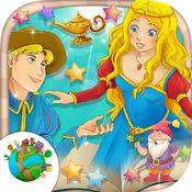 世界经典童话故事大全(6到12岁少年儿童睡前故事英语亲子软