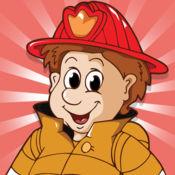 图画书 消防队员儿童:有很多照片像消防员,消防员 1