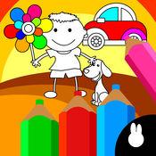 儿童趣味画画-幼儿学绘画宝宝涂鸦画板游戏 1.0.4