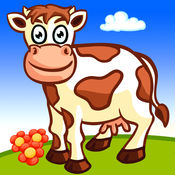 Funny Farm - 动物拼图和图画书为孩子和幼儿 2.0.0