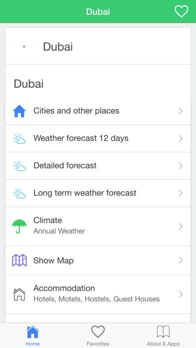 迪拜天气预报,今天和长期的气候条件