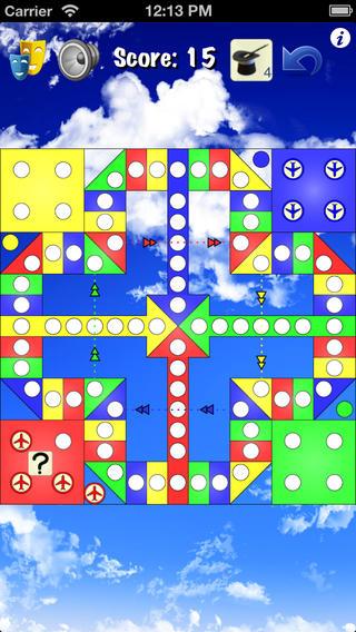 华军软件园 软件分类 ios软件 游戏娱乐 骰子游戏 飞行棋 simply ludo