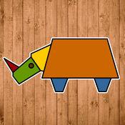 形状拼动物
