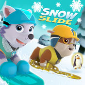 小狗狗滑雪企鹅...
