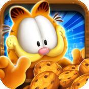 加菲猫推饼干...