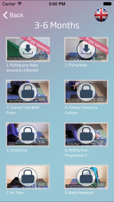 Baby Exercises and Activities