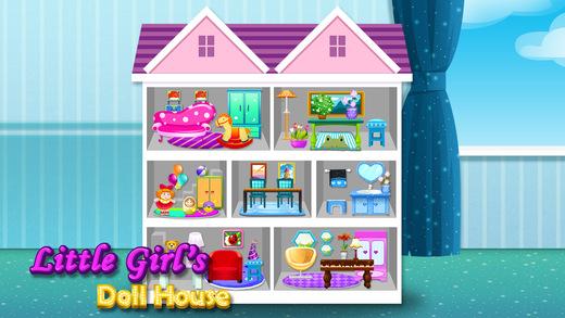Baby Doll House Salon - DIY Mini Home Girls Game