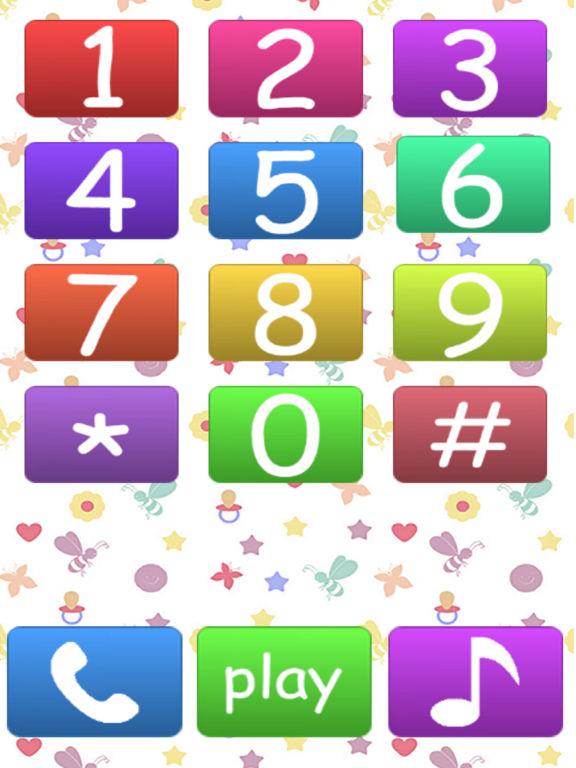 Baby Phone Number Animals Free