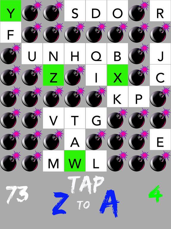 Backwards Alphabet - Z to A