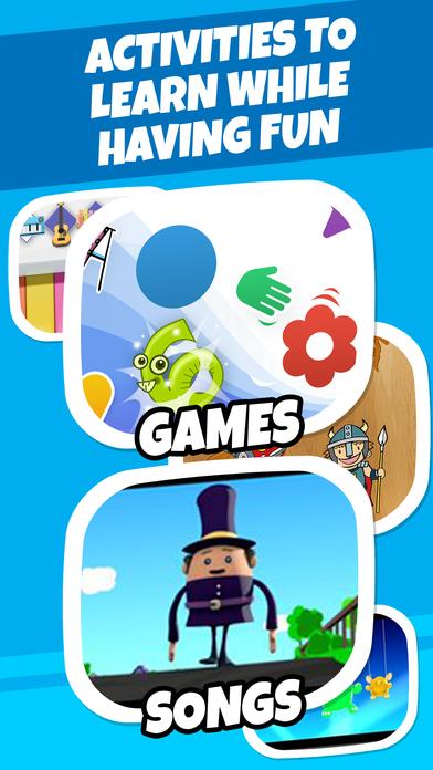 Badabim: colorings games cartoons tales for kids