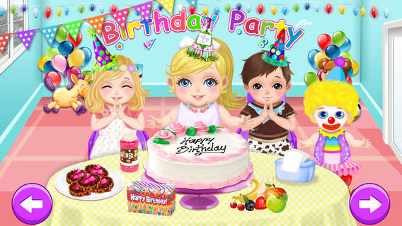 Baby Care  Play - Birthday Party