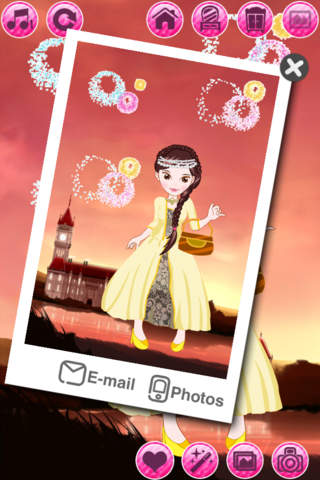 Beauty Princess: Dress up and Make up game for kids