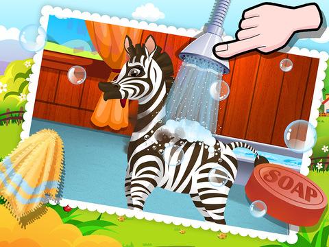 Baby Zebra SPA Salon - Makeover Game For Kids