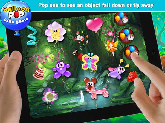 Balloon Pop Kids Game - Free Game Of Balloons