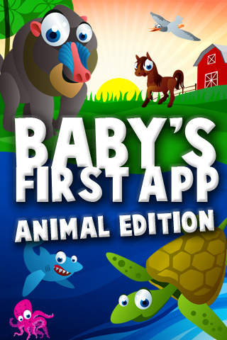 Baby's First App Animal Edition