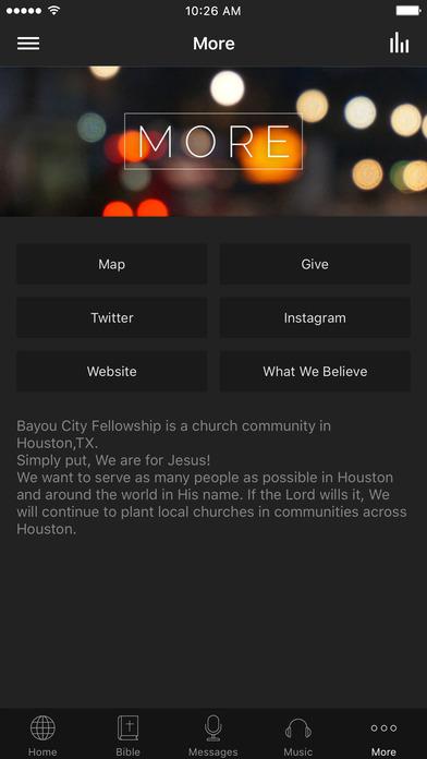 Bayou City Fellowship