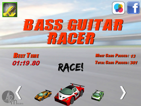 Bass Guitar Racer