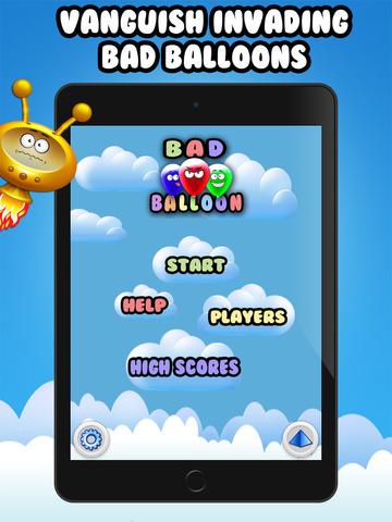 Bad Balloons Pop Aliens Attack