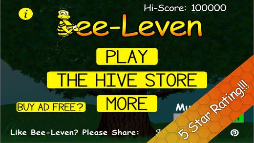 Bee-Leven Solitaire