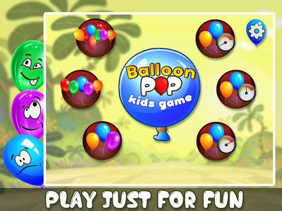 Balloon Pop Kids Game - Educational Baby Game