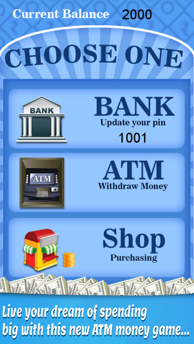 Bank ATM Simulator - Kids Money  Cash Register