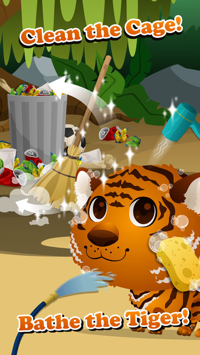 Baby Animal Zoo Care - Kids Game