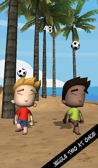 Beach Juggle