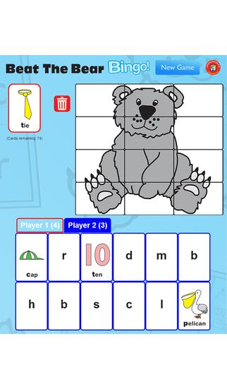 Beat The Bear Bingo