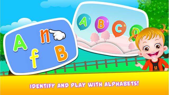 Baby Hazel Alphabet World